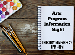 Arts Info Night Tile