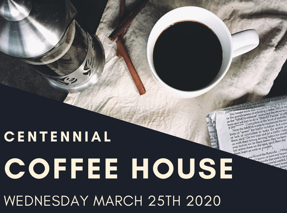 Coffee House March 2020