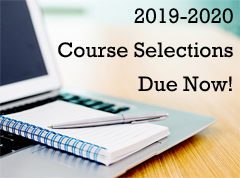 Course Selections Due Now