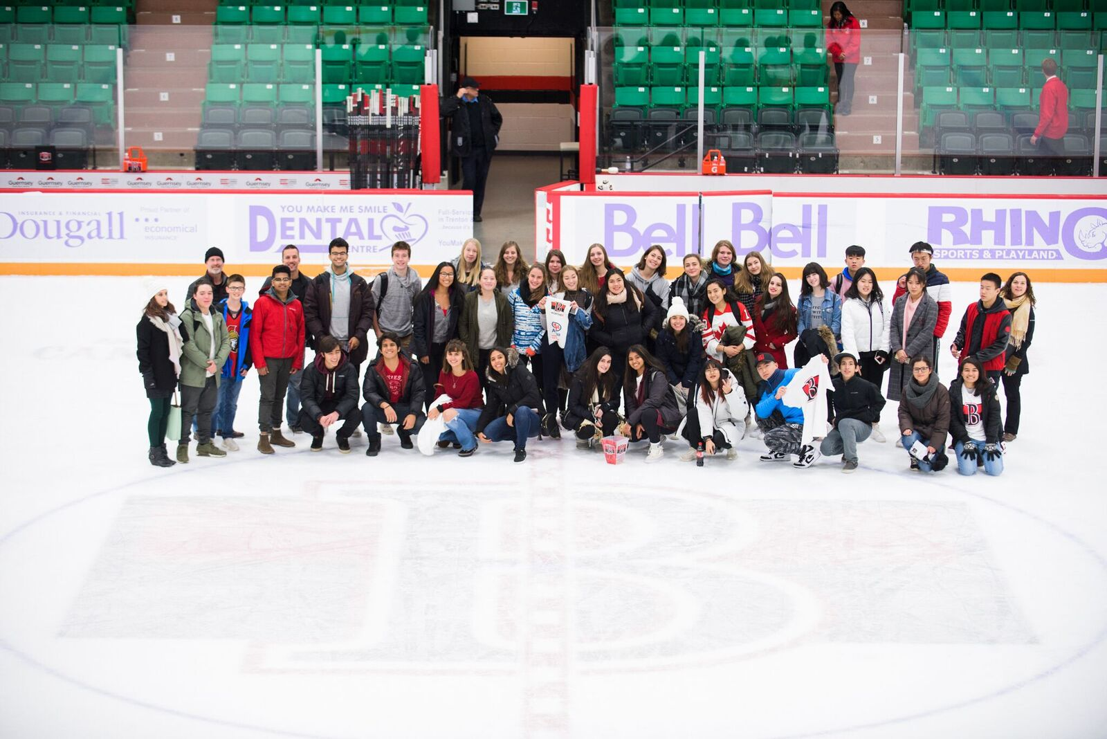 ISP Belleville Senators ISP Trip Group Photo Nov 2018
