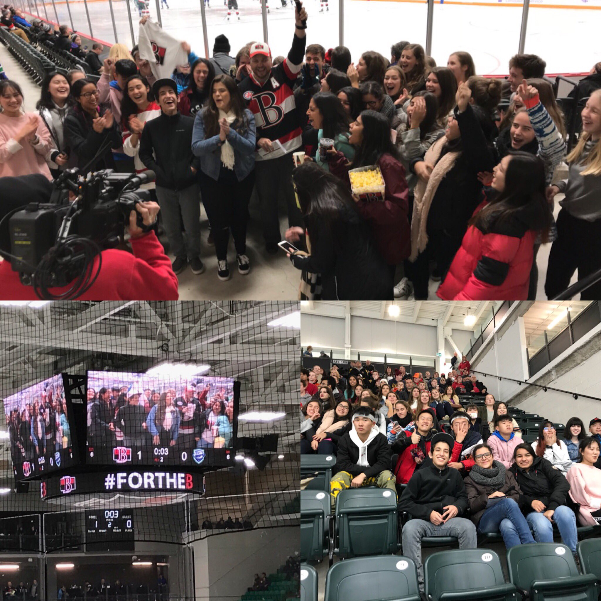 ISP Belleville Senators ISP Trip Collage