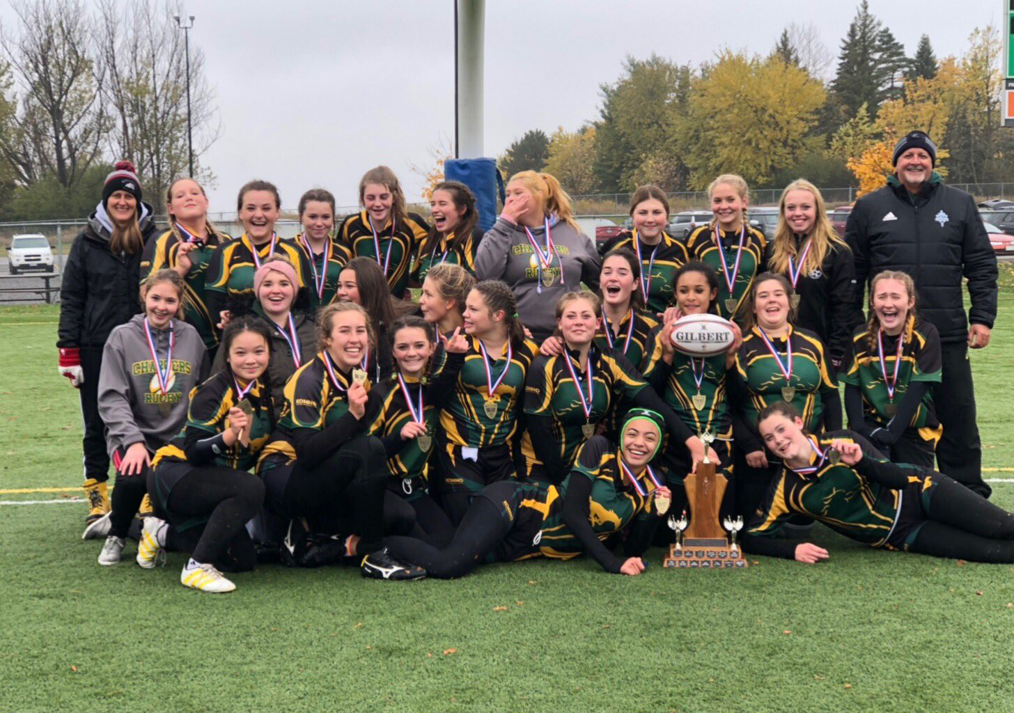 Jr Girls Rugby COSSA 1
