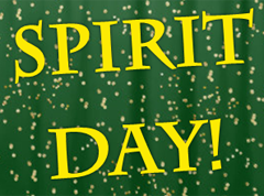 Spirit Day Green and Gold