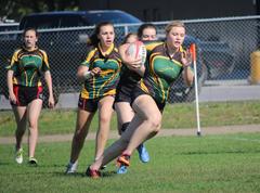 Girls Rugby Training