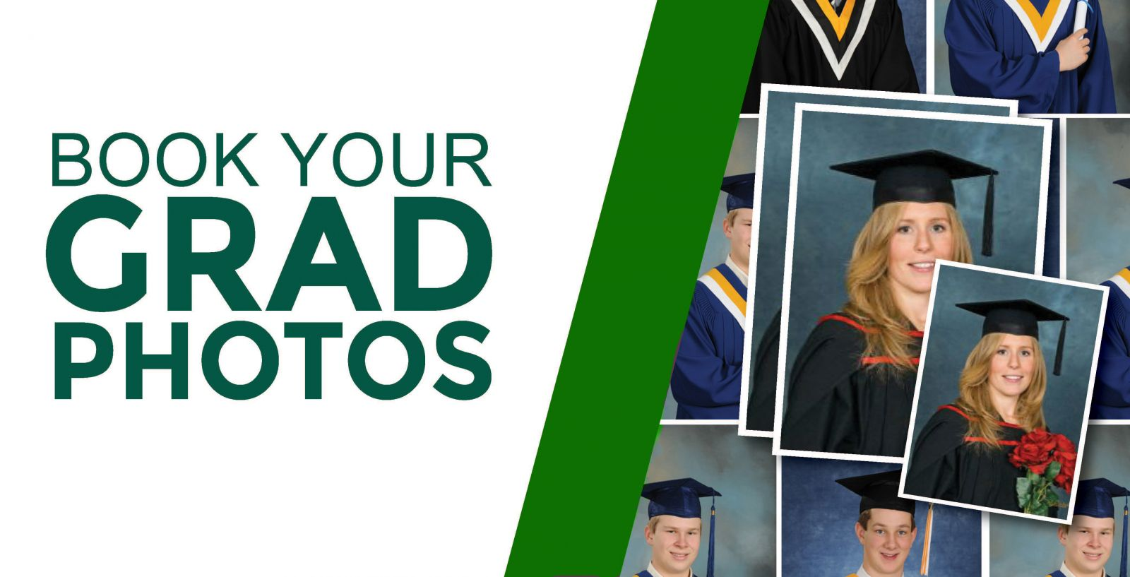 Book Your Grad Photos Ad