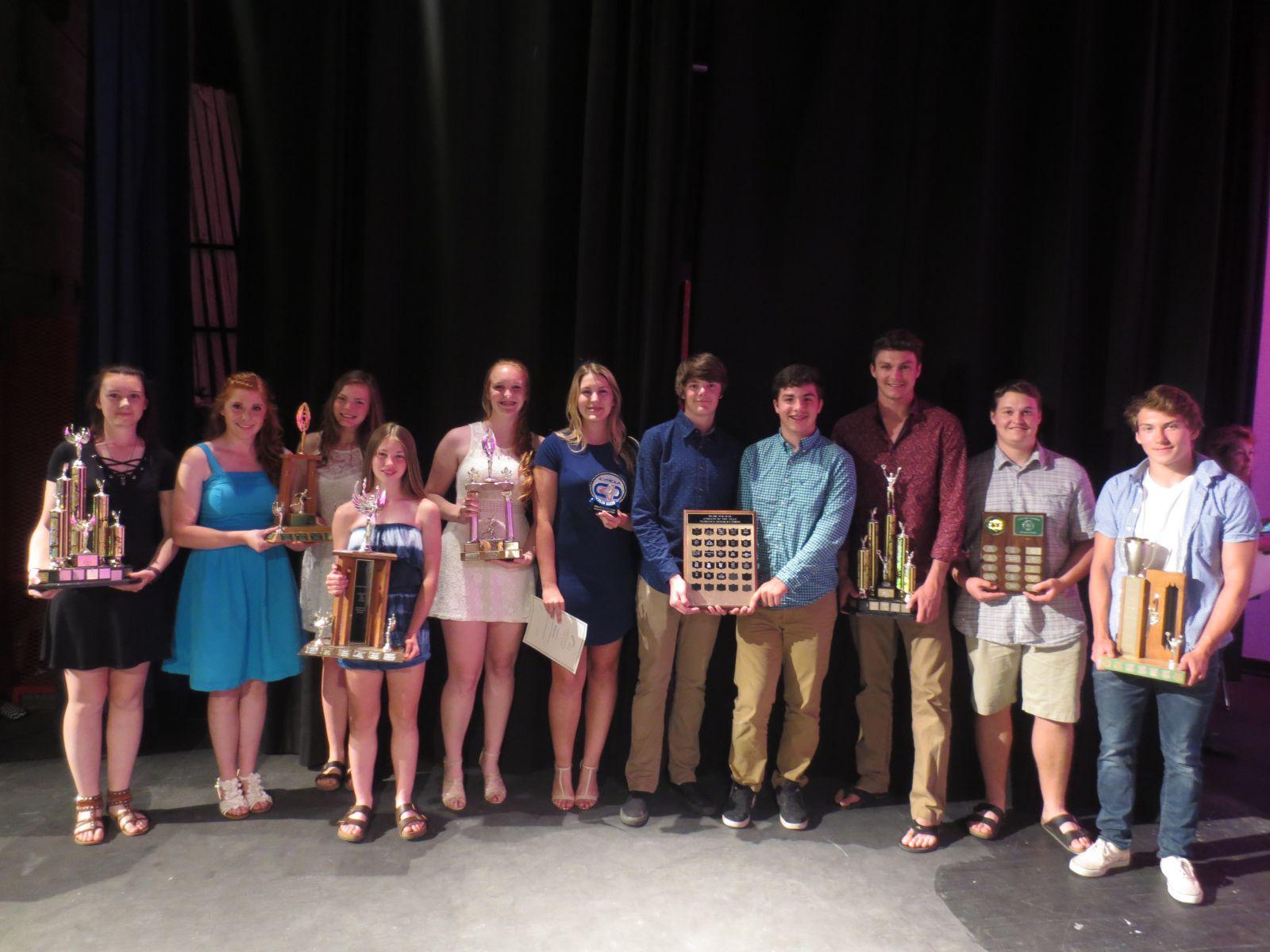 athletics winners 16