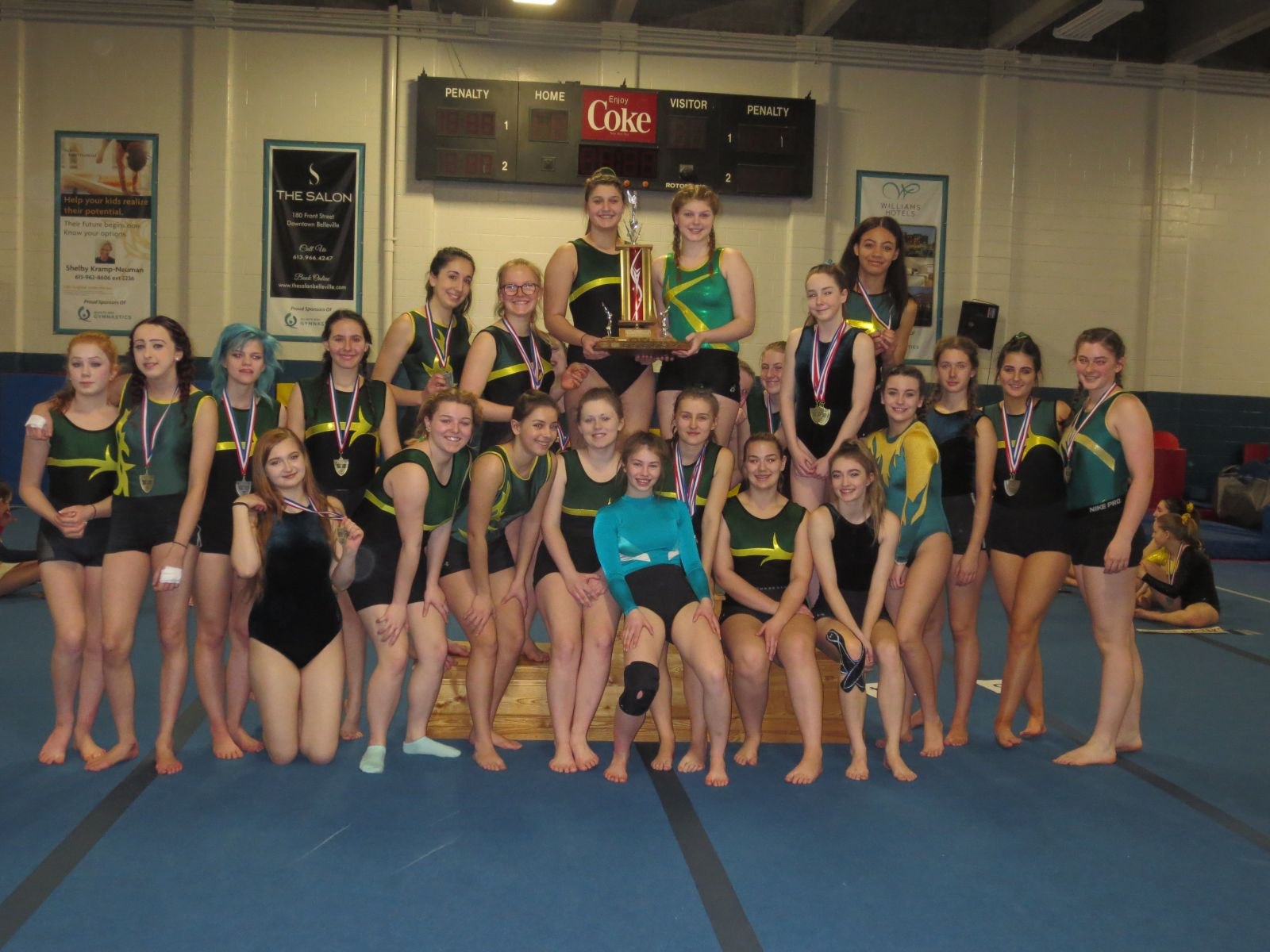 OFSAA Gymnasts