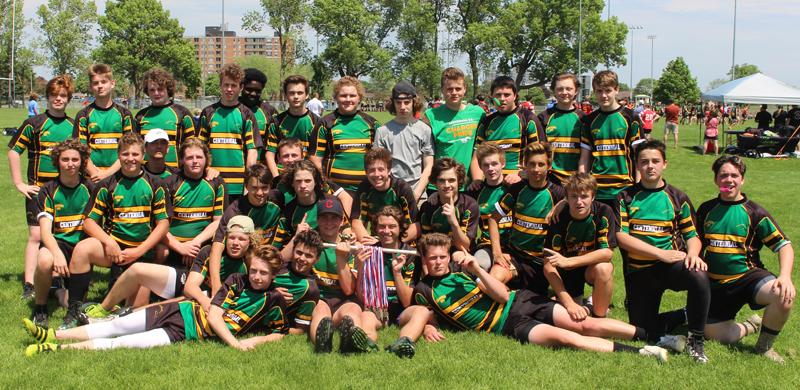 Jr Boys Rugby BQ Champions