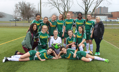 Junior Girls Soccer 2018