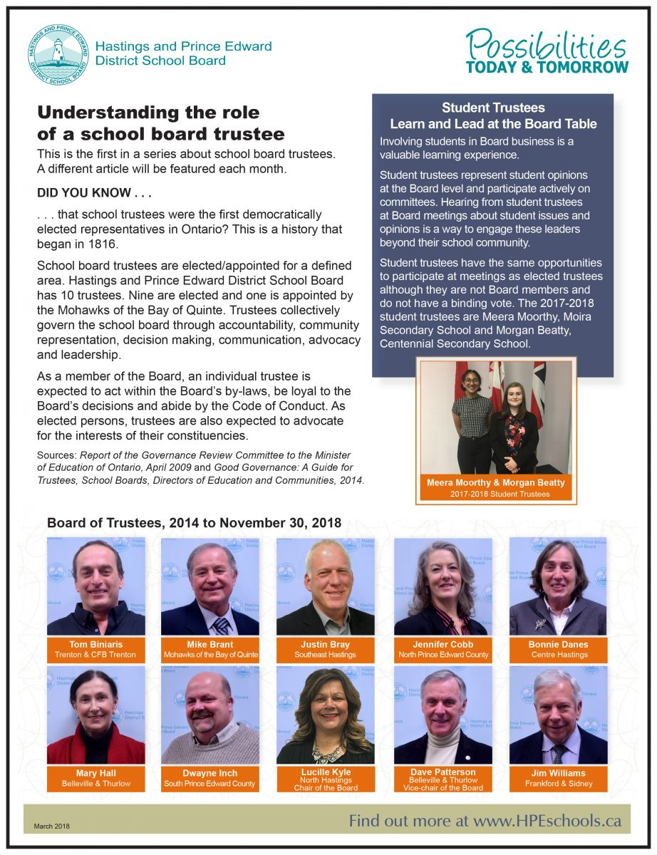 Know Your Trustees