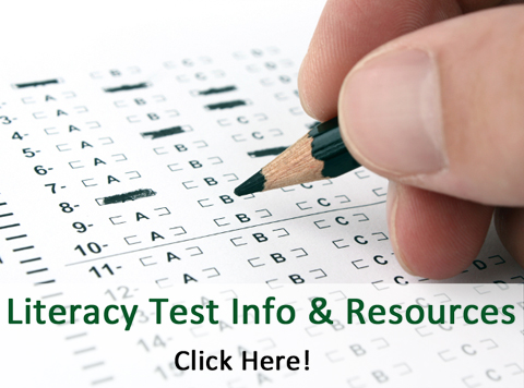 Literacy Test Info and Resources
