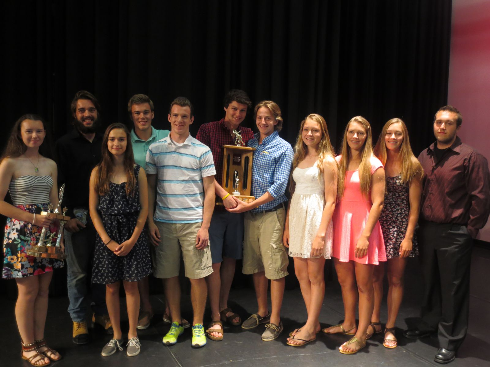 athletic banquet year end winners