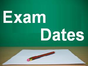 exam dates 17