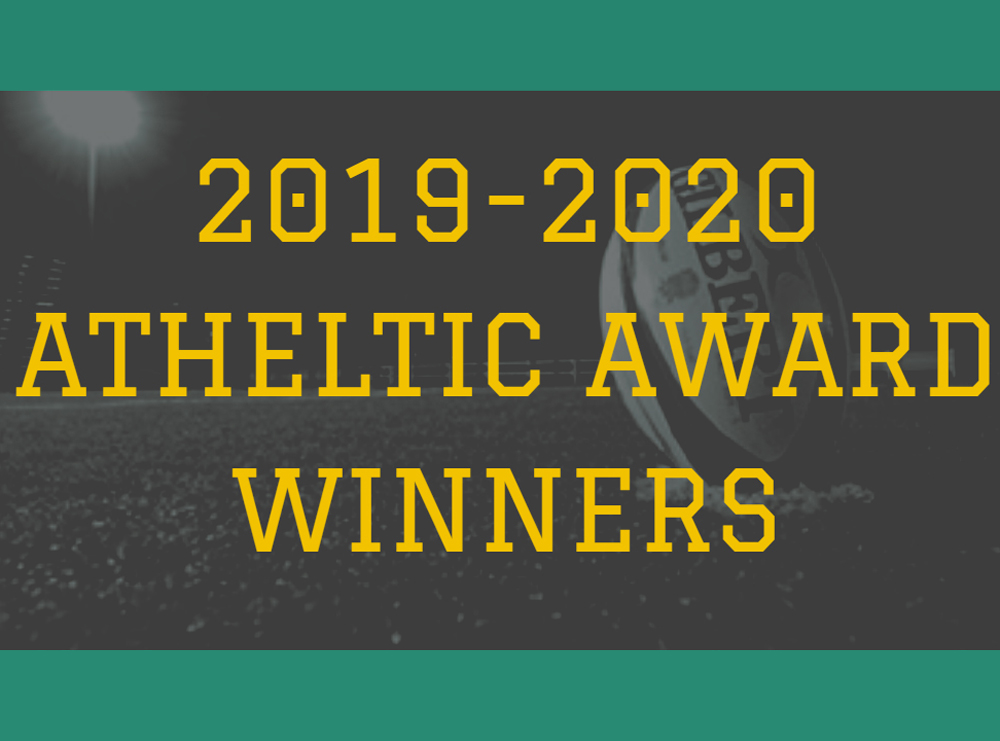 2019 2020 Athletic Award Winners Tile