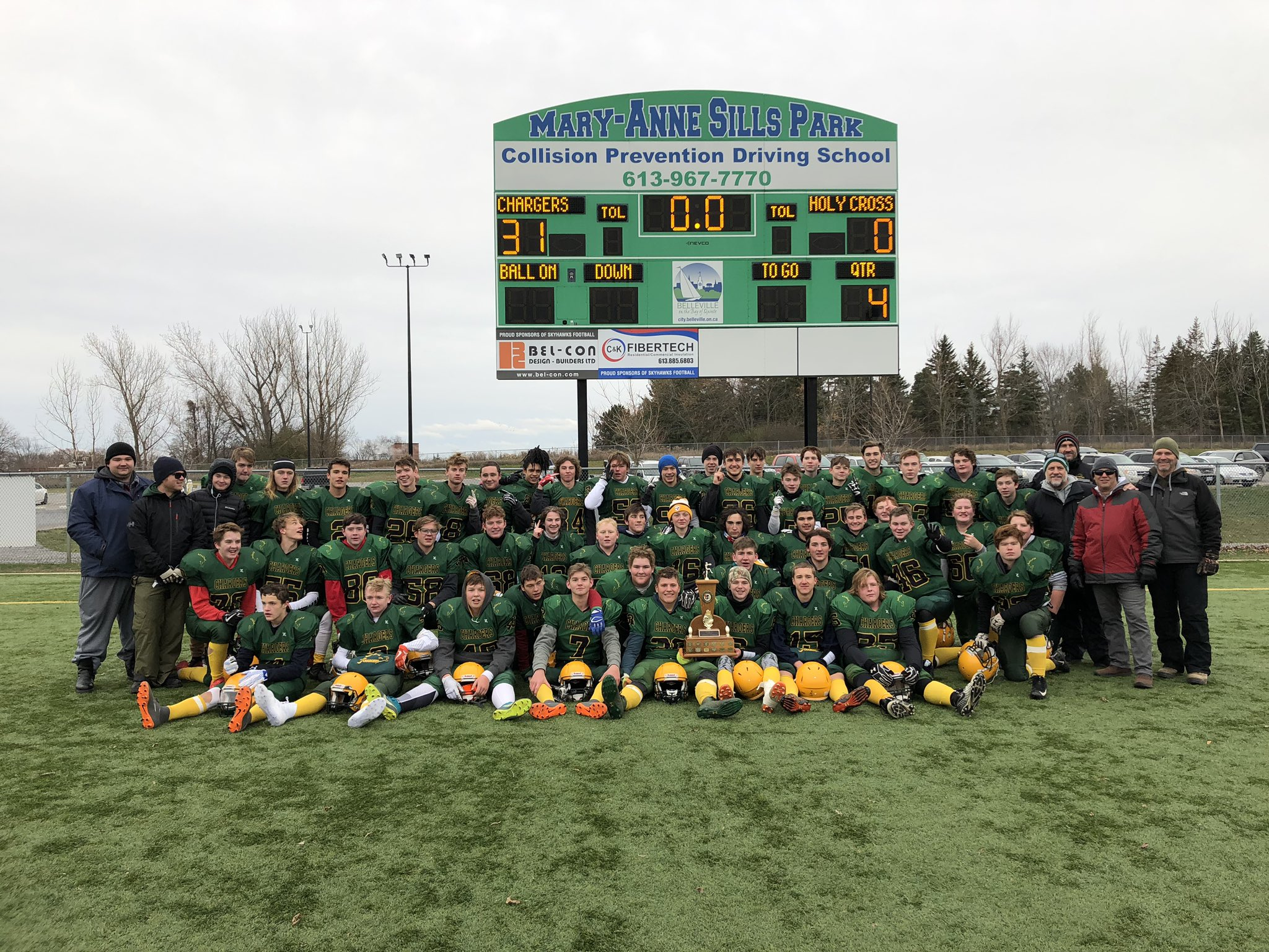 COSSA Football Champs 2