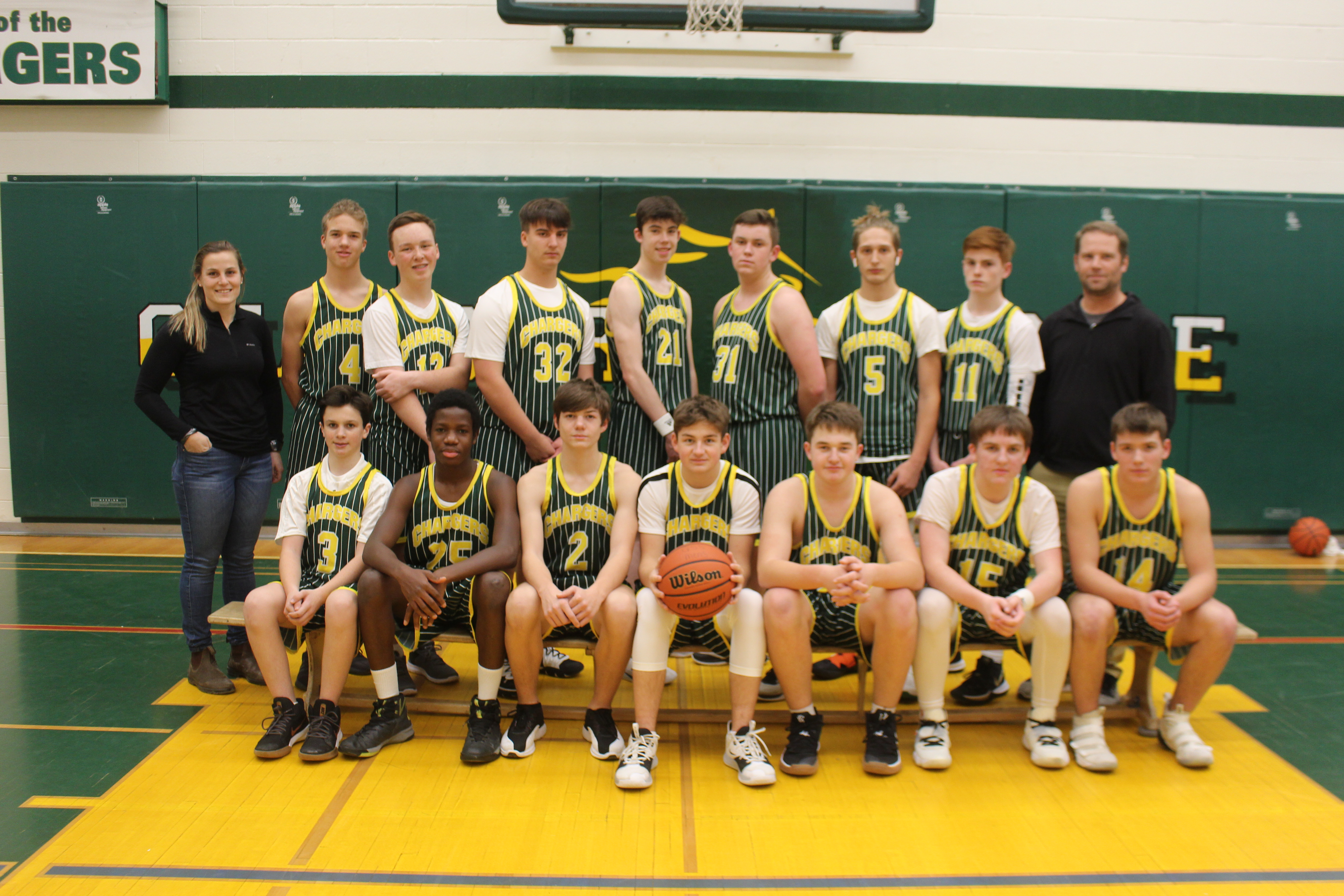 Junior Boys Basketball 2019 2020