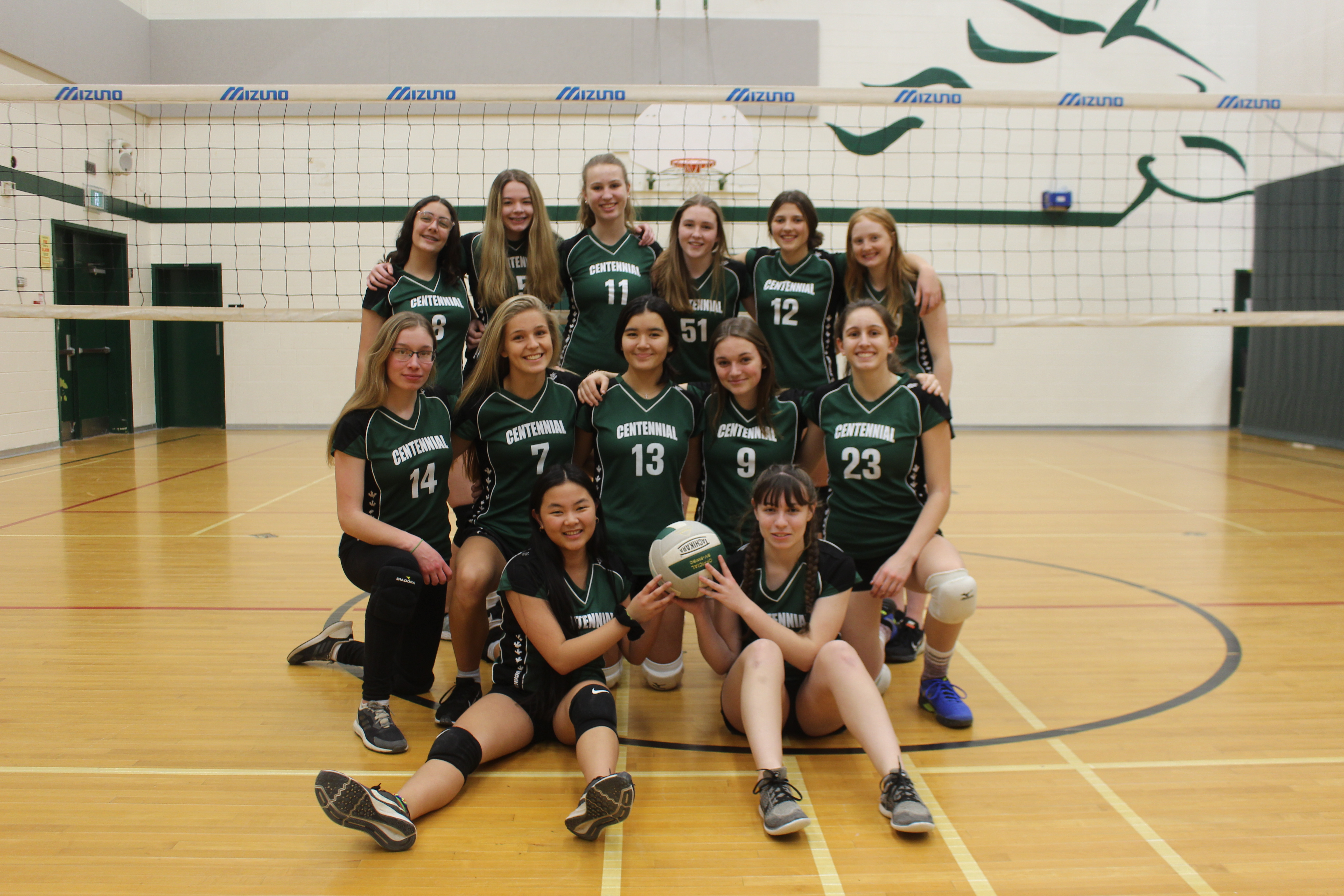 Junior Girls Volleyball 2019 2020