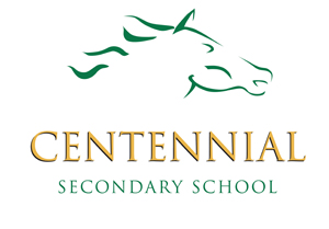 Logo Centennial and Horse Small