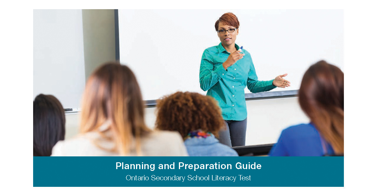 OSSLT Planning and Prep Guide