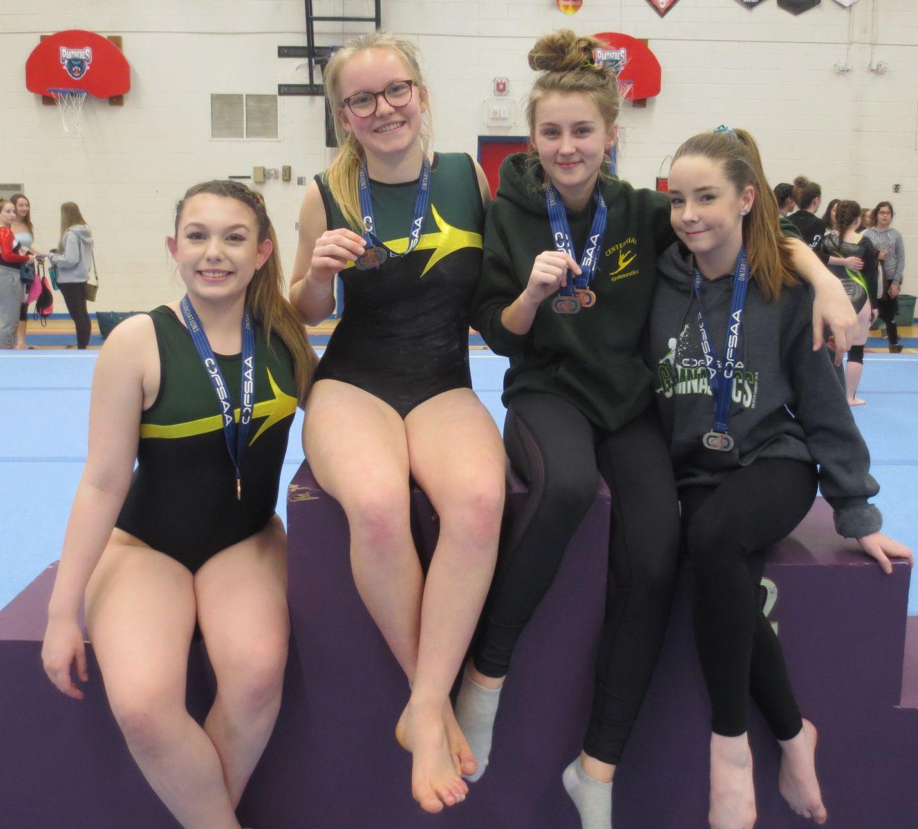 OFSAA Gymnastics Medals